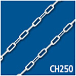 Flat Long Link 2.5mm Thick Bulk Chain