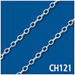 Flat Cable 1.5mm Thick Bulk Chain