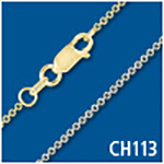 Standard Cable 1.1mm Thick Chain