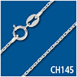 Diamond-Cut Cable 1.1mm Thick Chain