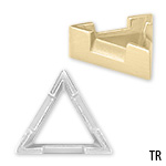 Triangle V-Prong Low Profile Setting