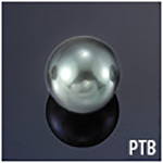 South Sea Black Tahitian Undrilled Pearl