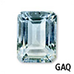 Genuine Aquamarine Emerald-Shape Gemstone
