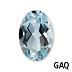 Genuine Aquamarine Oval Gemstone