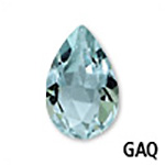 Genuine Aquamarine Pear Gemstone