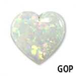 Genuine Australian Heart Opal