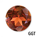 Genuine Garnet Round Gemstone