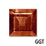 Genuine Garnet Square Gemstone