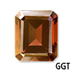 Genuine Garnet Emerald-Shape Gemstone