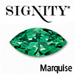 Synthetic Alpinite Emerald Marquise Gemstone