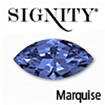 Synthetic Alpinite Sapphire Marquise Gemstone