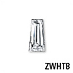 Tapered Baguette Cubic Zirconia