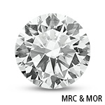 Round Brilliant-Cut Moissanite