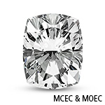 Square Brilliant-Cut Moissanite