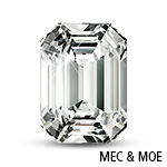 Emerald Radiant-Cut Moissanite