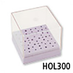 Foredom Square 48-Hole Bur Drill Holder