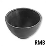 Rubber Investment Mixing Bowl