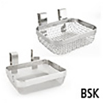 Flexible Handle Stainless Steel Basket
