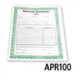 Appraisal Certificate Forms