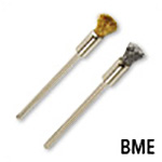 Wire Bristle Mounted End Brush
