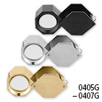 10X 20.5mm Hexagon Triplet Loupe