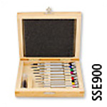 Screwdriver Set in Wooden Box