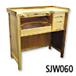 4-Drawer Solid Wood Jeweler's Workbench
