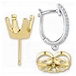 Closeout Earring Components
