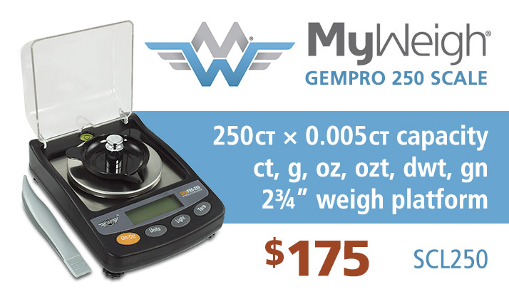 MyWeigh GemPro 250 Carat Scale