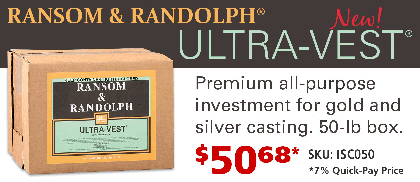 Ransom and Randolph Ultra-Vest Investment